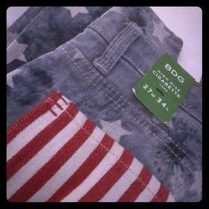 BDG 27W X 34L American Flag Style Jeans